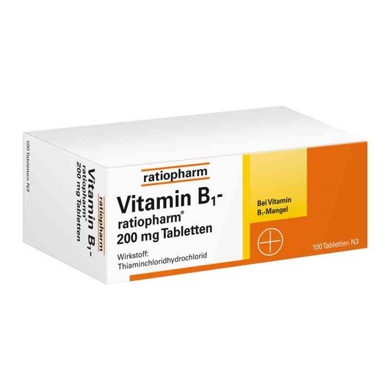 Vitamin B1 ratiopharm 200 mg Tabletten  bei apo.com bestellen