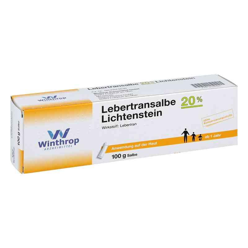 Lebertransalbe 20% Lichtenstein  bei apo.com bestellen