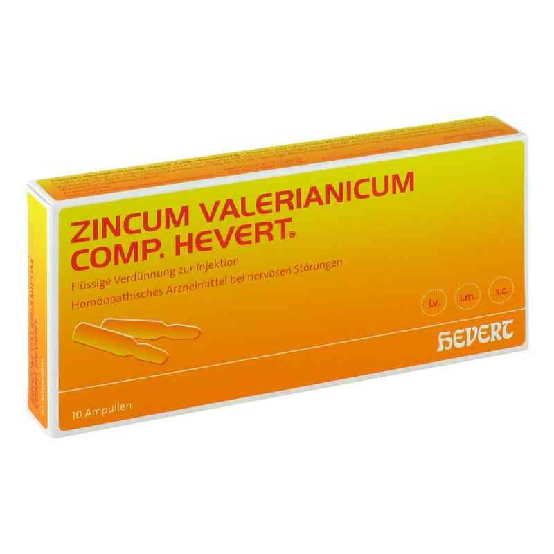 Zincum Valerianicum compositus  Hevert Ampullen  bei apo.com bestellen