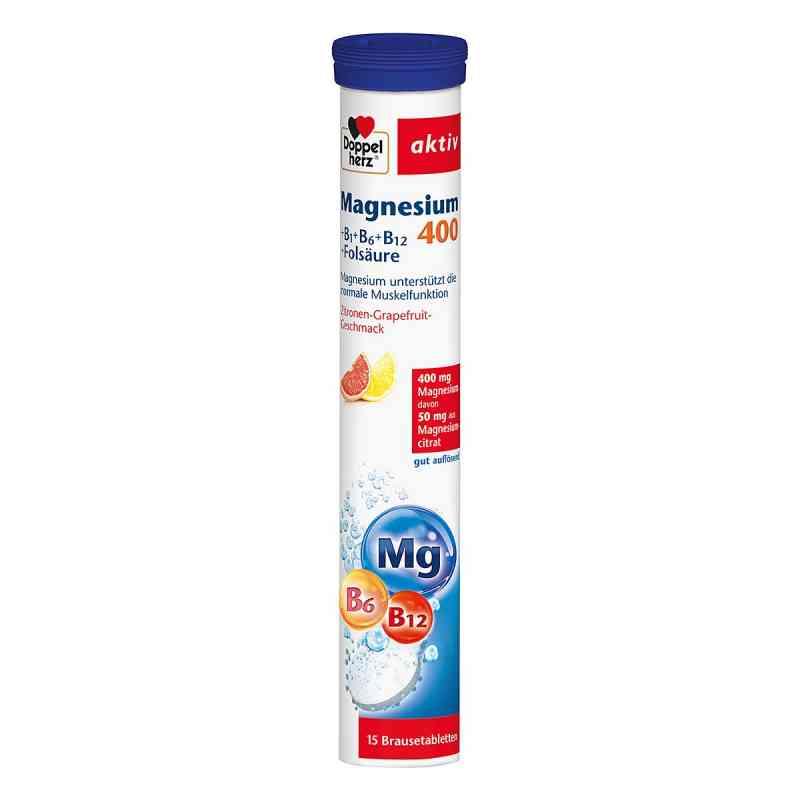 Doppelherz Magnesium 400+b Vitamine +fols. Brausetabletten   bei apo.com bestellen