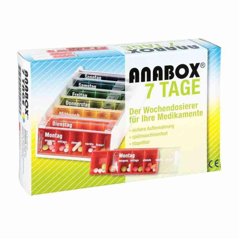 Anabox 7 Tage Regenbogen  bei apo.com bestellen