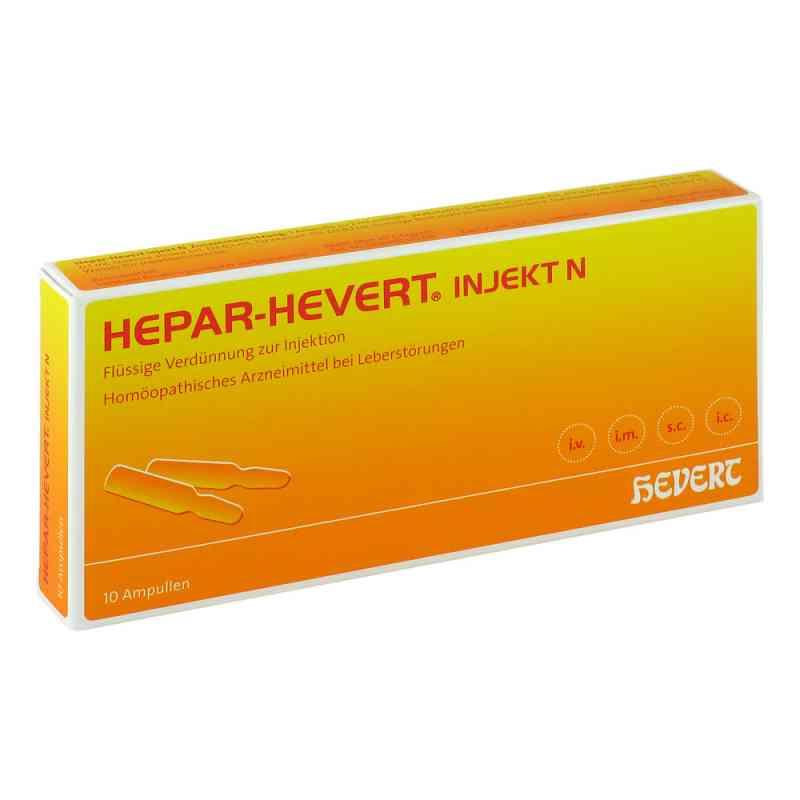 Hepar Hevert injekt N Ampullen  bei apo.com bestellen