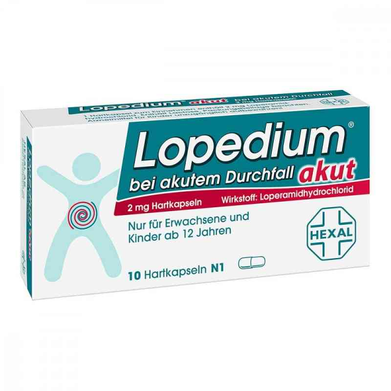 Lopedium akut bei akutem Durchfall  bei apo.com bestellen