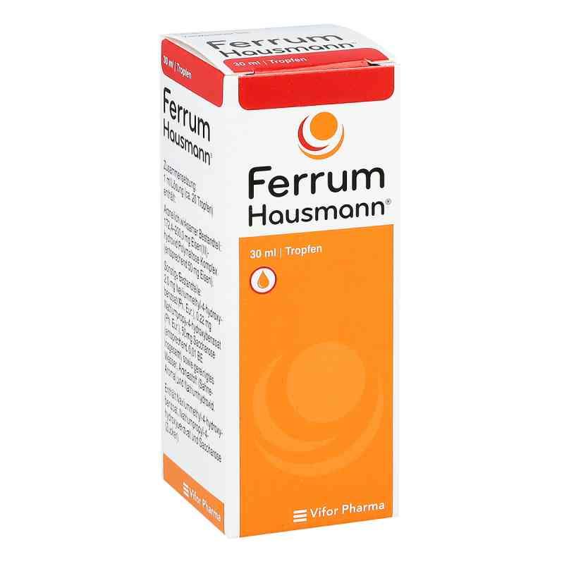 Ferrum Hausmann 50mg Eisen/ml Lösung  bei apo.com bestellen