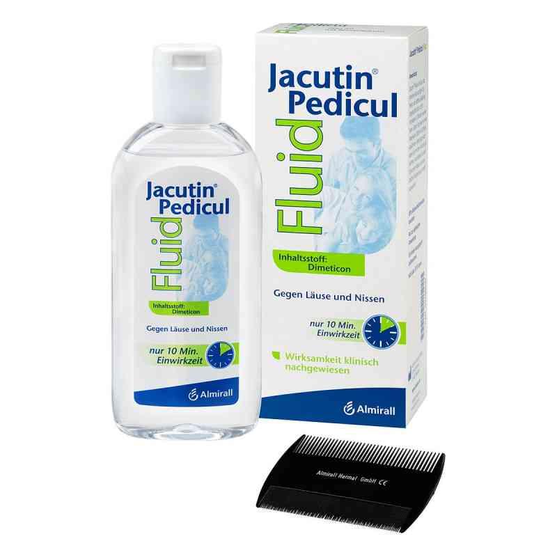 Jacutin Pedicul Fluid mit Nissenkamm  bei apo.com bestellen