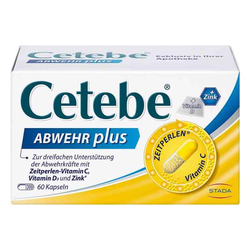 Cetebe Abwehr plus Vitamin C+vitamin D3+zink Kapsel (n)   bei apo.com bestellen