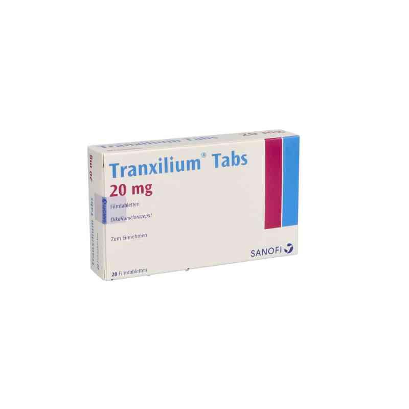 Tranxilium Tabs 20 Stk Günstig Bei Apo Com