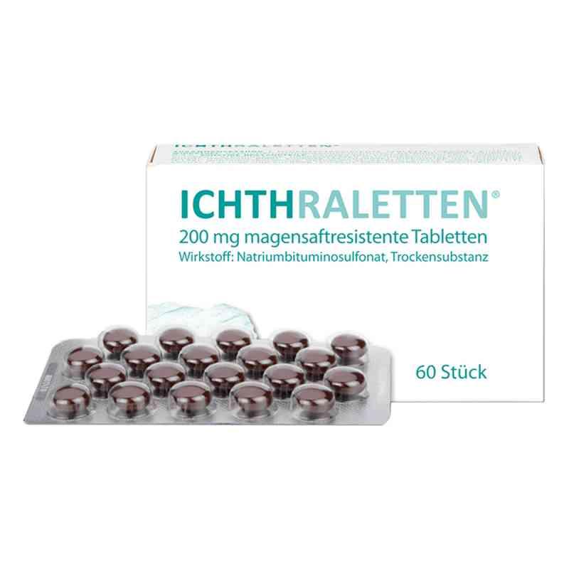Ichthraletten magensaftresistente Tabletten  bei apotheke-online.de bestellen