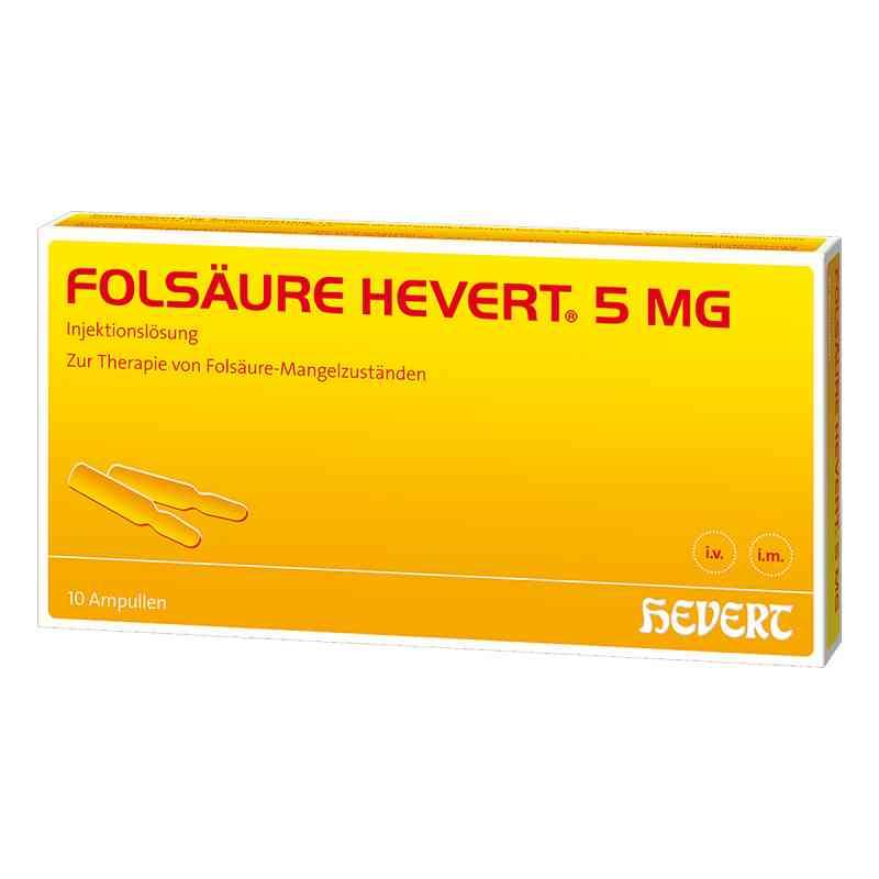 Folsäure Hevert 5 mg Ampullen  bei apo.com bestellen