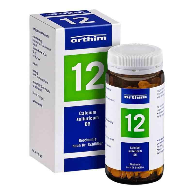 Biochemie Orthim 12 Calcium sulfuricum D 6 Tabletten   bei apo.com bestellen