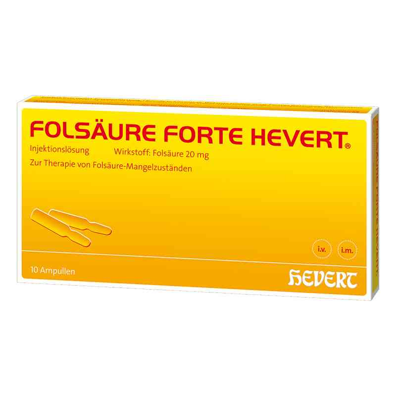 Folsäure Hevert forte Ampullen  bei apo.com bestellen
