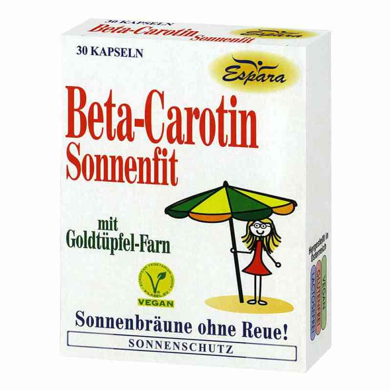 Beta Carotin Sonnenfit Kapseln  bei apo.com bestellen