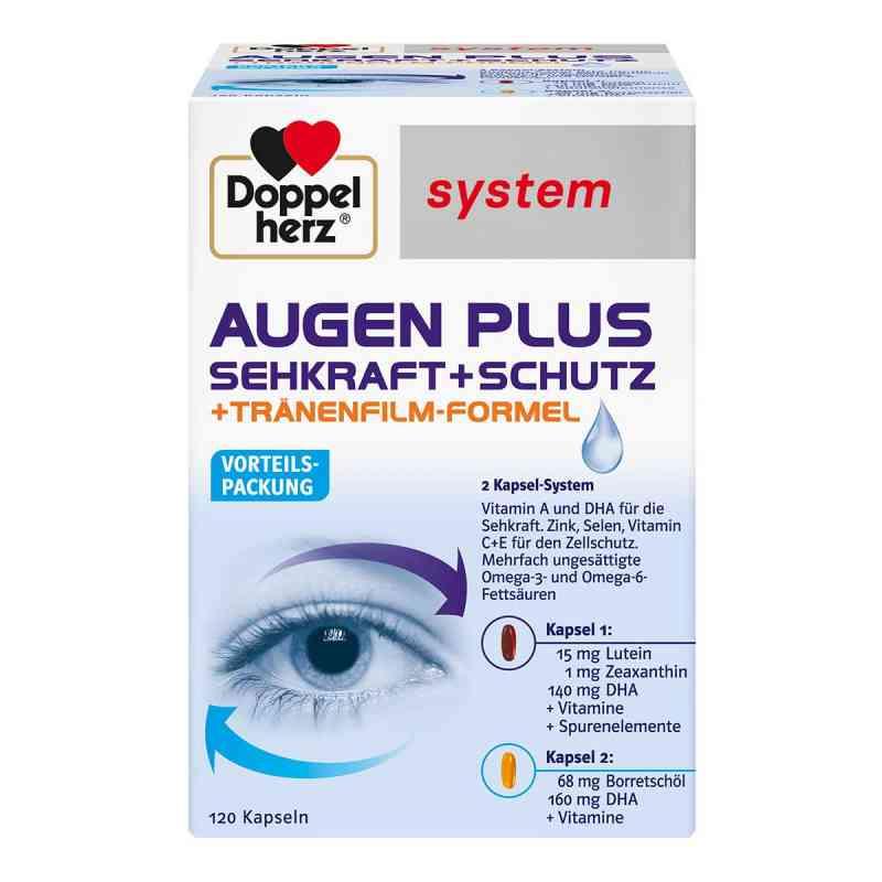 Doppelherz Augen plus Sehkraft+Schutz System Kapsel (n)  bei apo.com bestellen