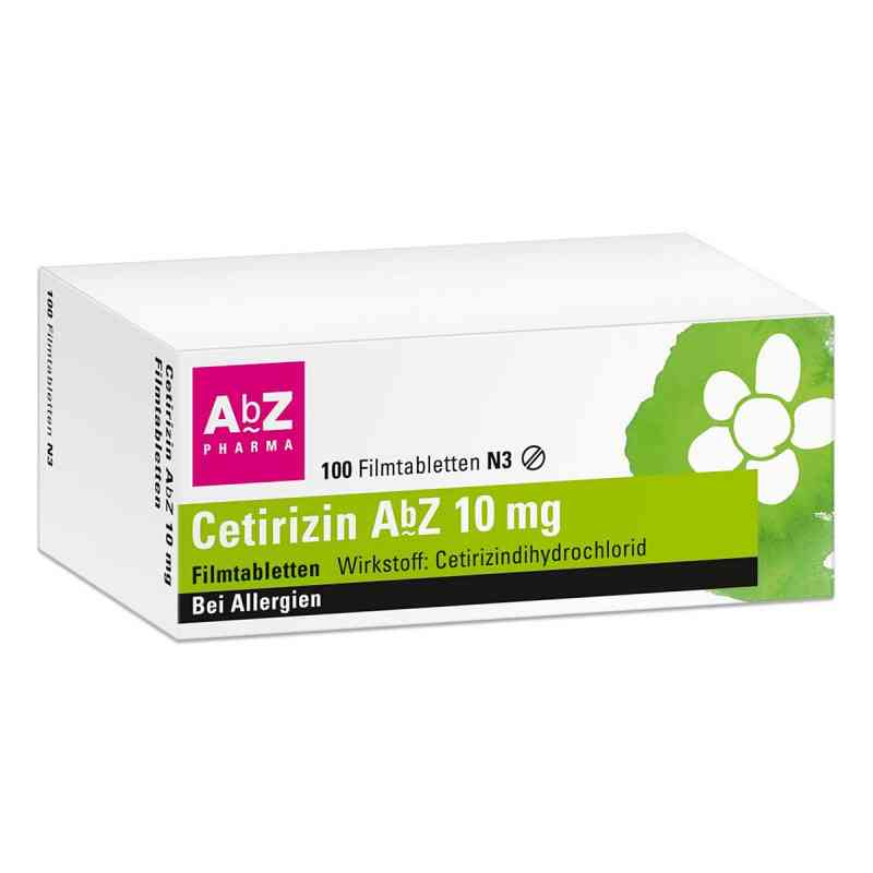 Cetirizin AbZ 10mg  bei apo.com bestellen