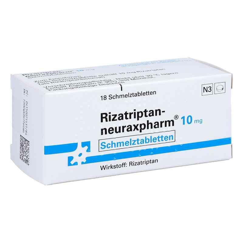 Rizatriptan-neuraxpharm 10 mg Schmelztabletten  bei apo.com bestellen