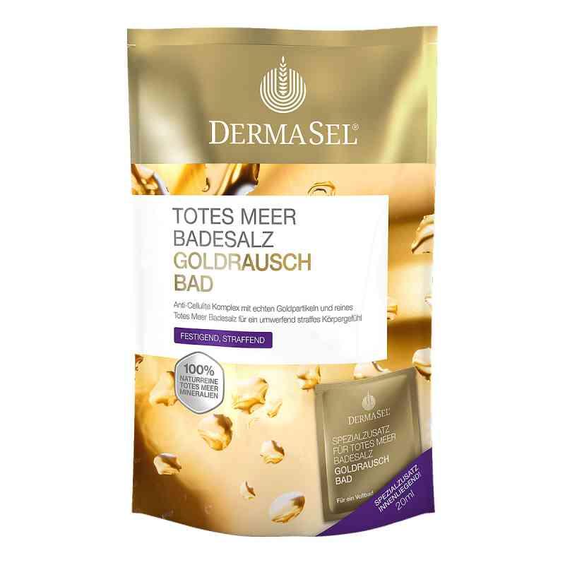 Dermasel Totes Meer Badesalz+gold Exklusiv  bei apotheke-online.de bestellen