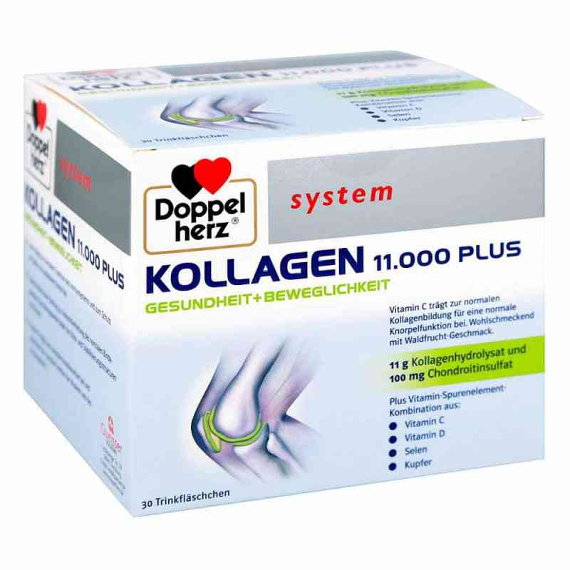 Doppelherz Kollagen 11000 Plus system Ampullen  bei vitaapotheke.eu bestellen