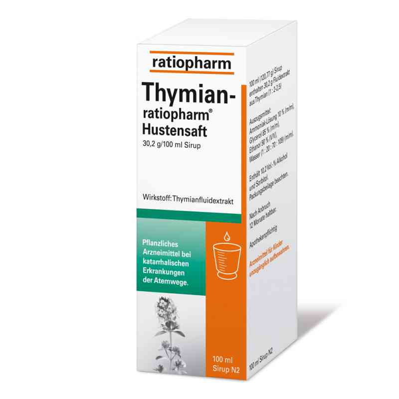 thymian ratiopharm hustensaft 100 ml g nstig bei. Black Bedroom Furniture Sets. Home Design Ideas