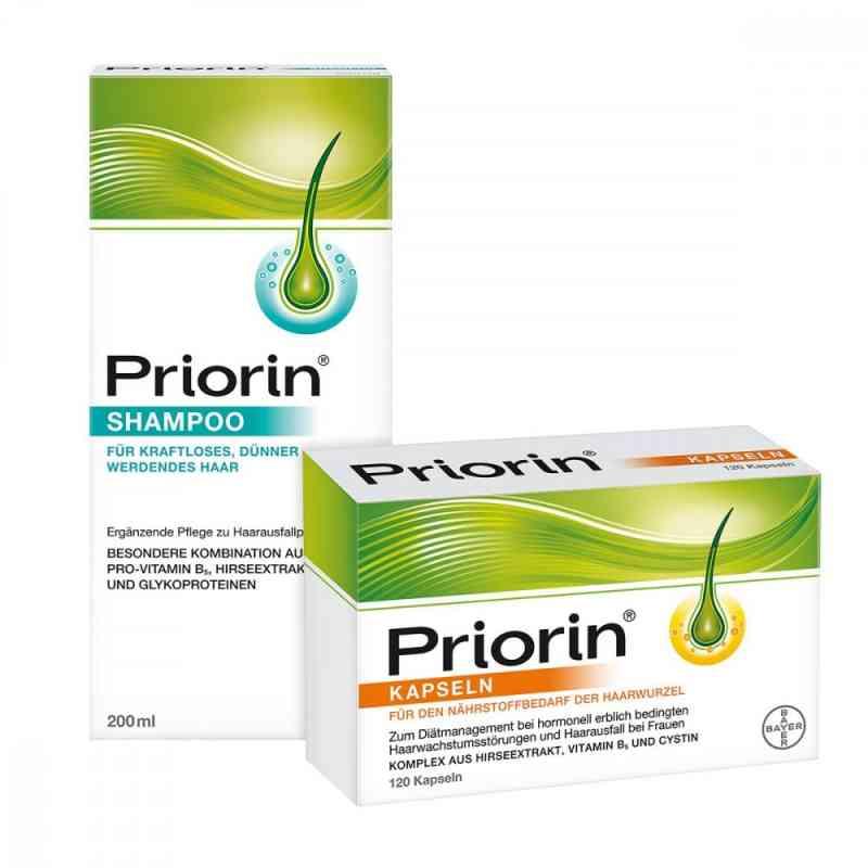 Priorin Kapseln 120er und Shampoo 200 ml   bei apo.com bestellen