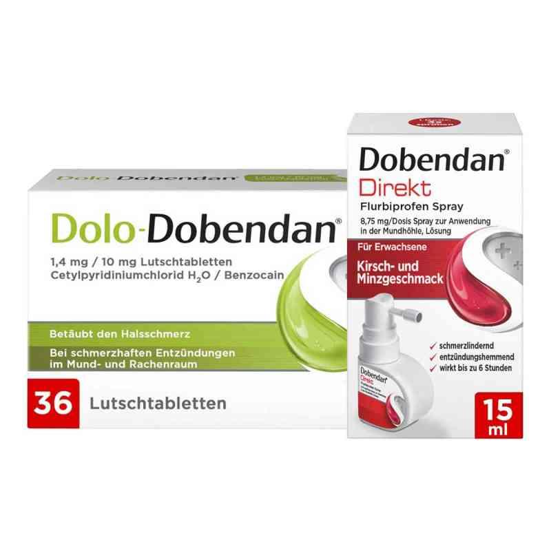 Dolo-Dobendan Set gegen Halsschmerzen  bei apo.com bestellen