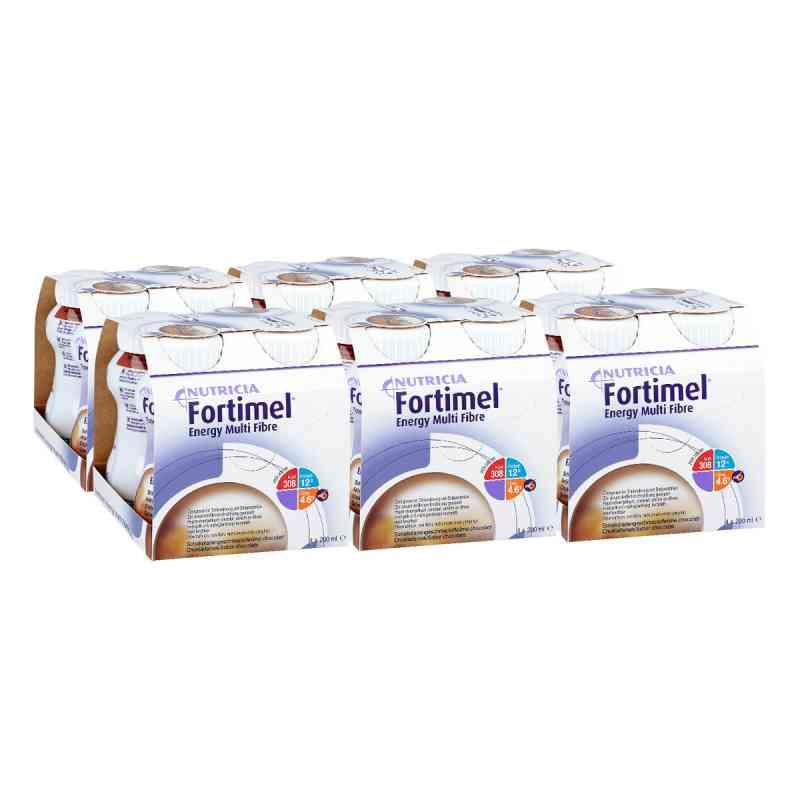 Fortimel Energy Multi Fibre Schokoladengeschmack  bei apo.com bestellen
