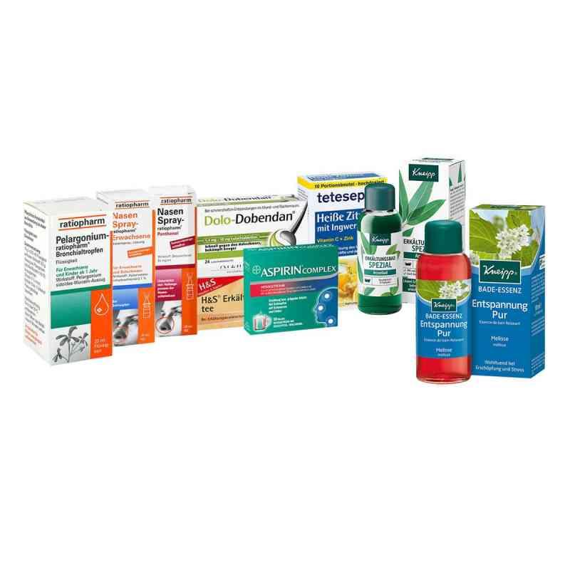 Erkältungsset für Erwachsene 9-teilig  bei apo.com bestellen
