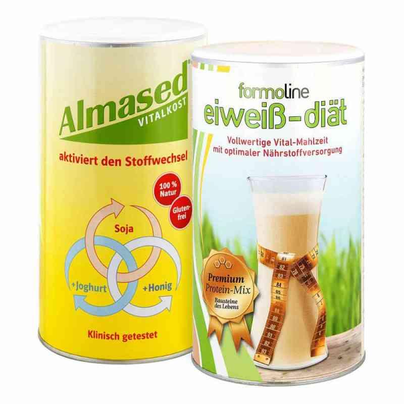 Almased Vitalkost und Formoline Eiweiss Diät Pulver  bei apo.com bestellen