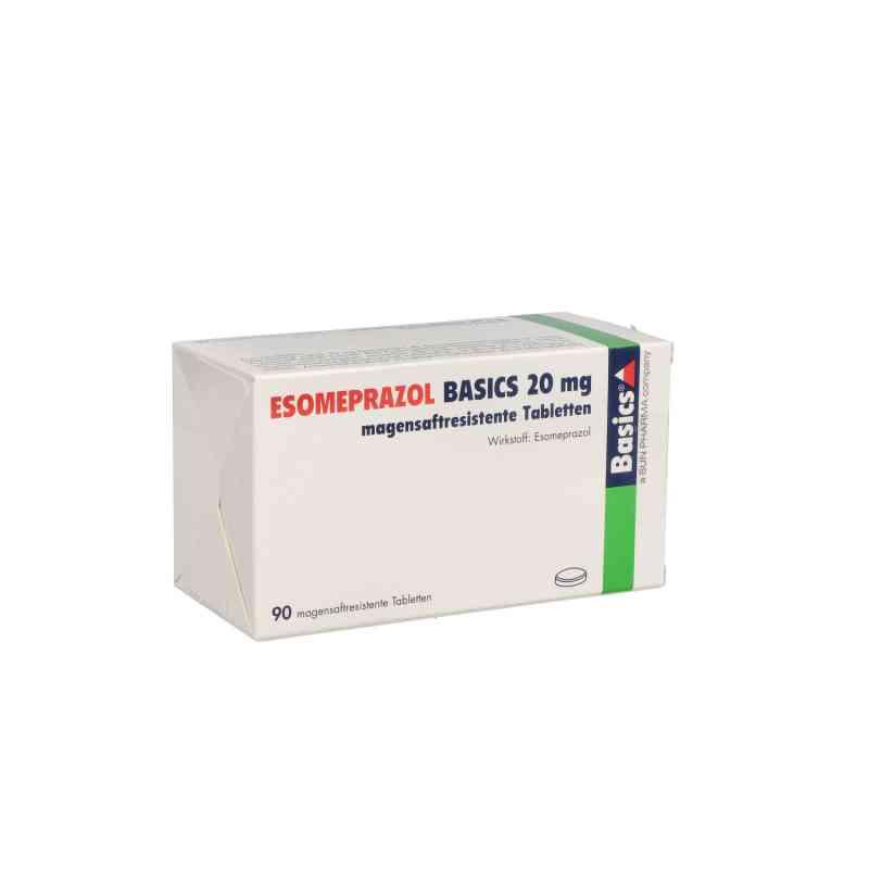 Esomeprazol Basics 20 mg magensaftresistent Tabletten  bei apo.com bestellen