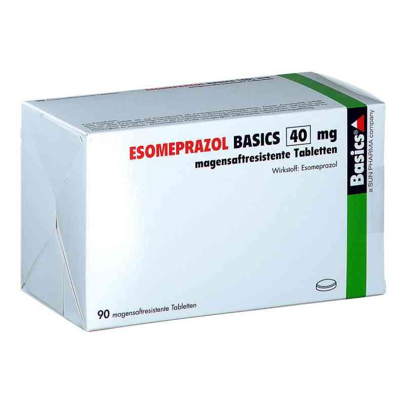 Esomeprazol Basics 40 mg magensaftresistent Tabletten  bei apo.com bestellen