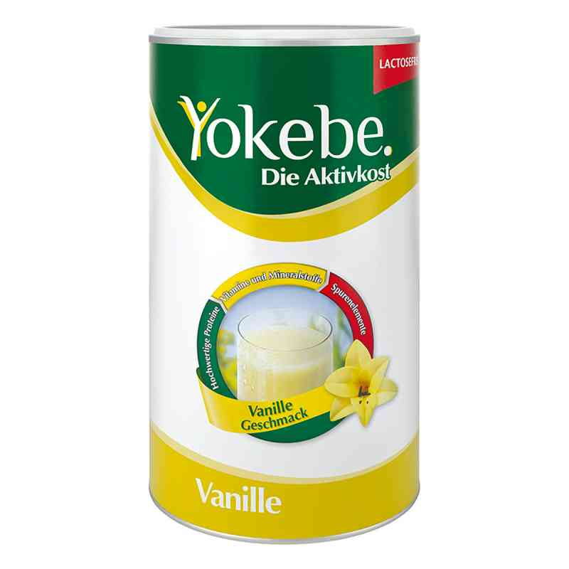Yokebe Lactosefrei Vanille Pulver  bei vitaapotheke.eu bestellen