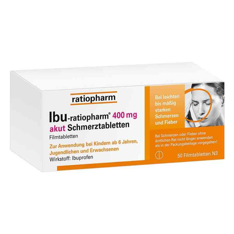 IBU-ratiopharm 400 akut Schmerztabletten  bei apo.com bestellen