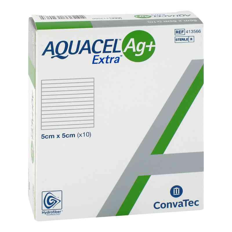 Aquacel Ag+ Extra 5x5 cm Kompressen  bei apo.com bestellen
