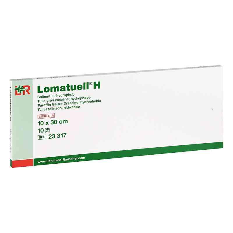 Lomatuell H Salbentüll 10x30 cm steril  bei apo.com bestellen