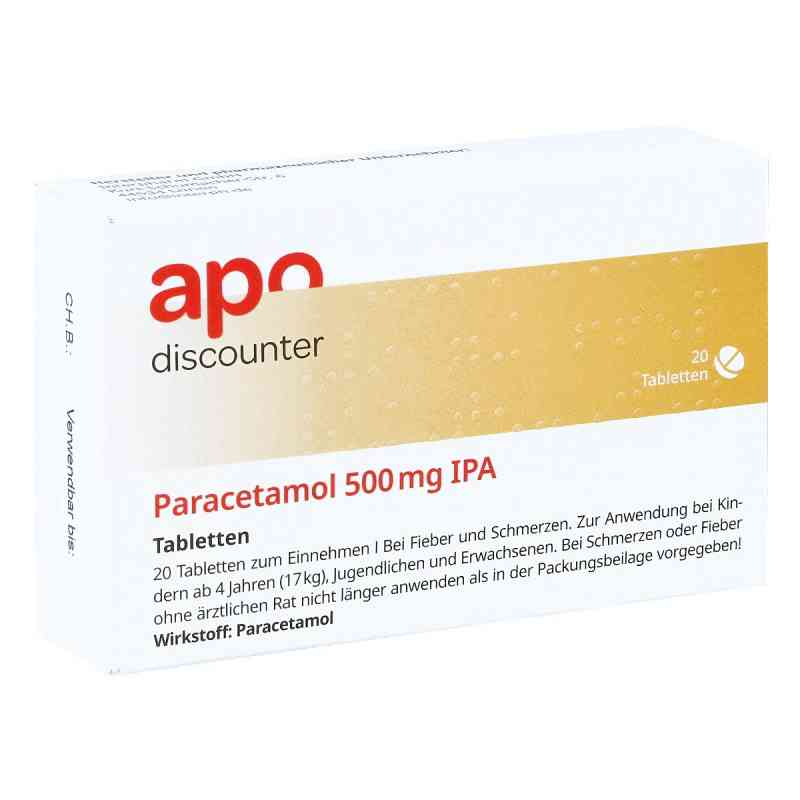 Paracetamol 500mg von apo-discounter  bei apotheke-online.de bestellen
