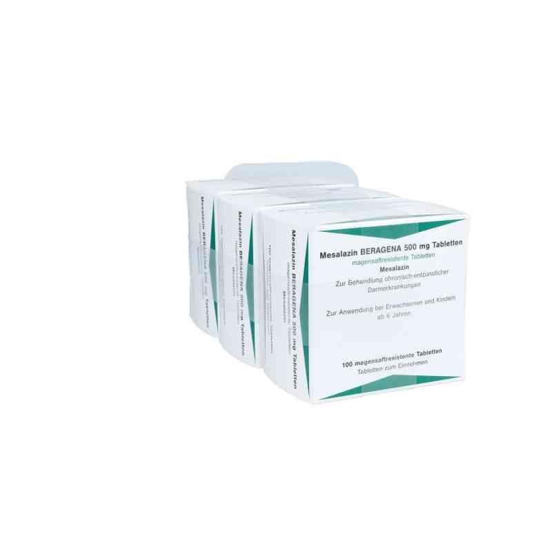 Mesalazin Beragena 500 mg magensaftresistent Tabletten  bei apo.com bestellen