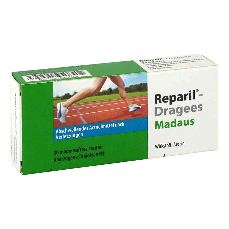 Reparil-dragees Madaus magensaftresistent Tabletten  bei apo.com bestellen