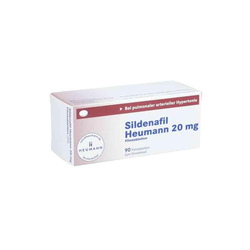 Sildenafil Heumann 20 mg Filmtabletten  bei apo.com bestellen