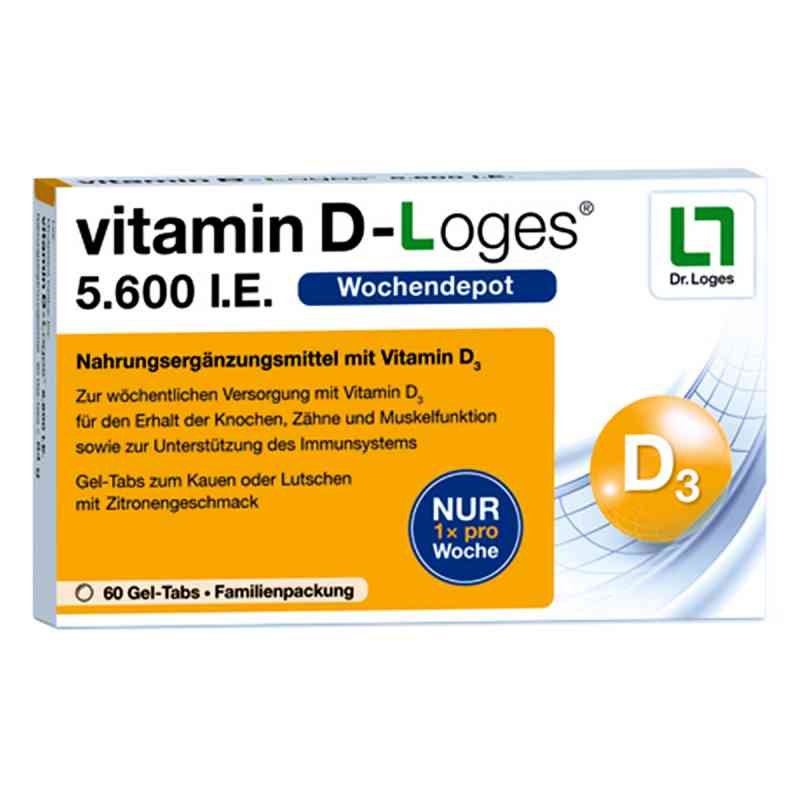 vitamin d loges i e kautablette n familienpackung 60 stk. Black Bedroom Furniture Sets. Home Design Ideas