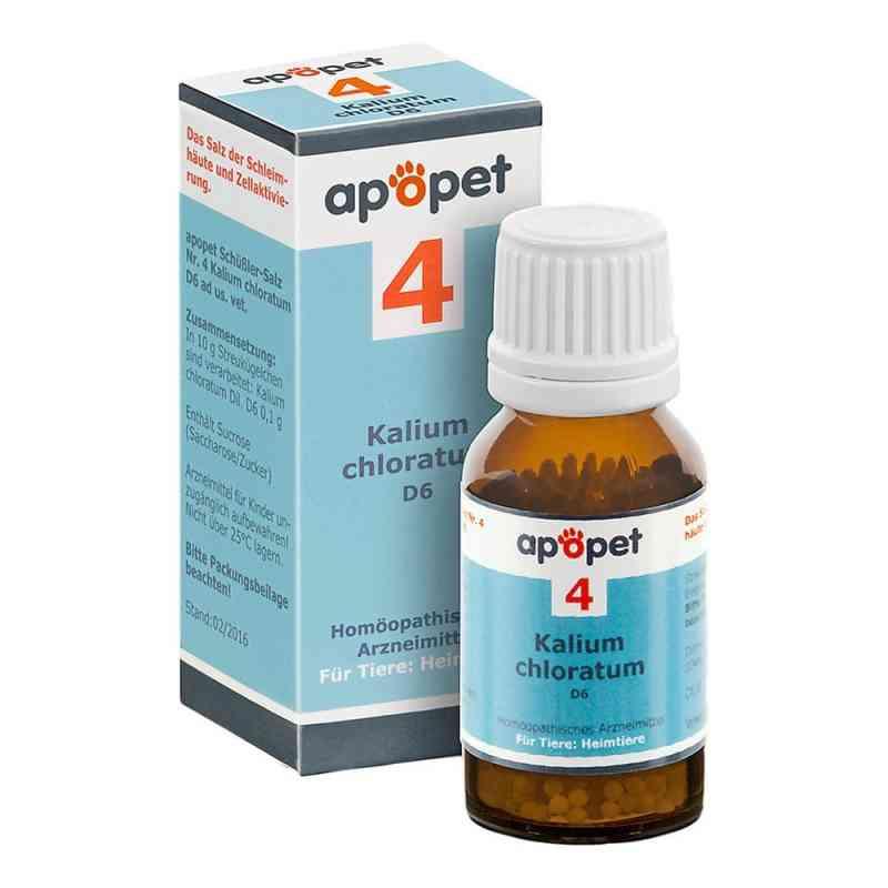 Apopet Schüssler-salz Nummer 4 Kalium chlor.D 6 veterinär  bei apo.com bestellen