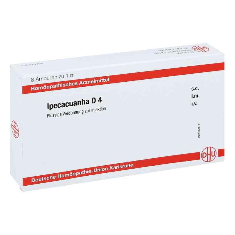 Ipecacuanha D 4 Ampullen  bei apo.com bestellen