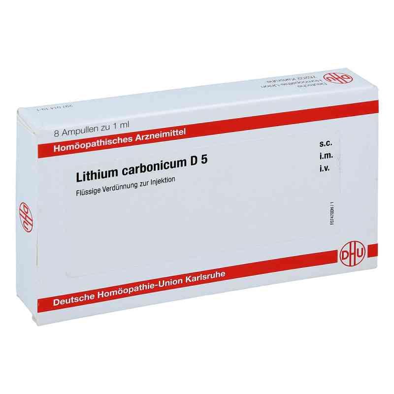 Lithium Carbonicum D 5 Ampullen  bei apo.com bestellen