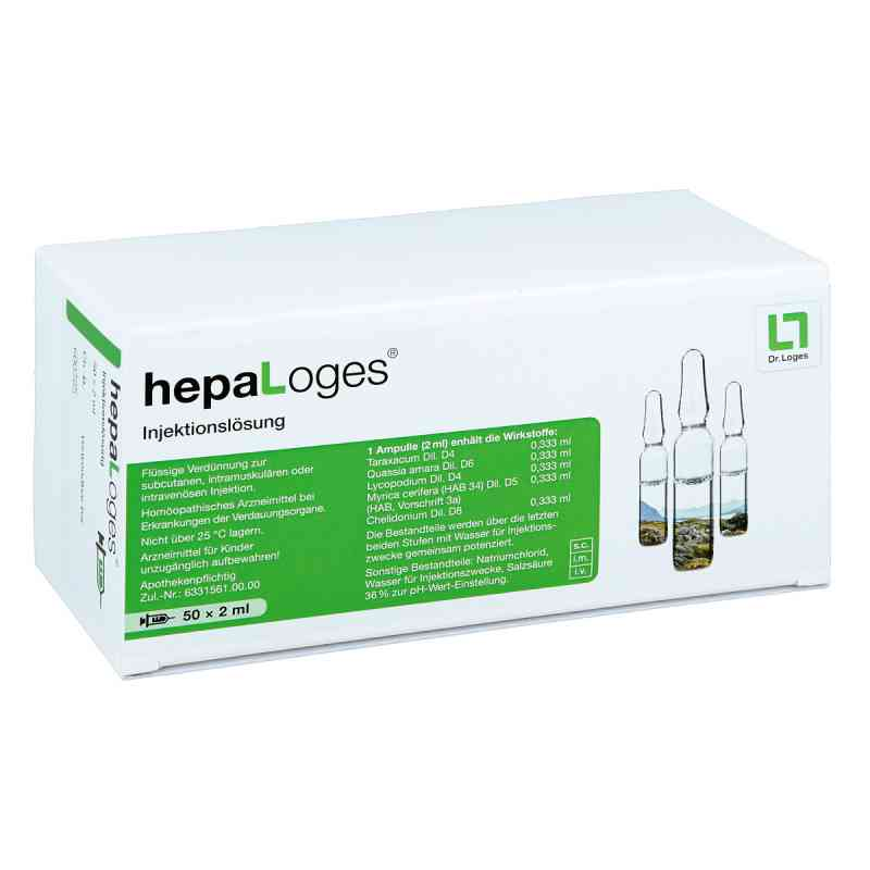 Hepa Loges Injektionslösung Ampullen  bei apo.com bestellen