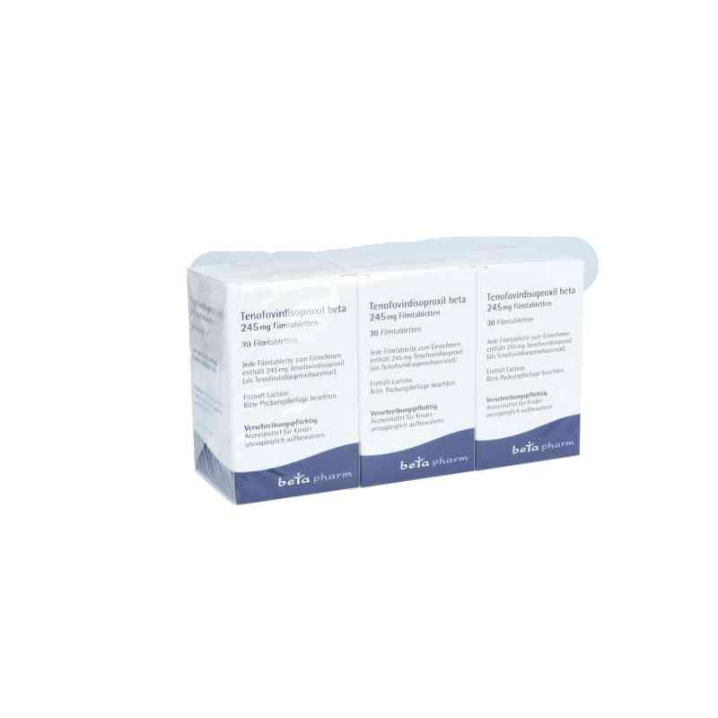 Tenofovirdisoproxil beta 245 mg Filmtabletten  bei apo.com bestellen