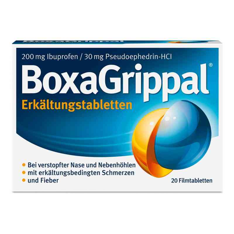 Boxagrippal Erkältungstabletten 200 mg/30 mg Fta  bei vitaapotheke.eu bestellen