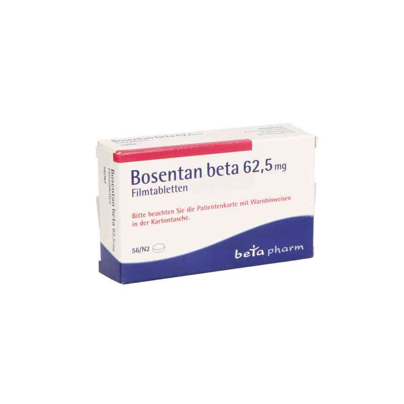 Bosentan beta 62,5 mg Filmtabletten  bei apo.com bestellen