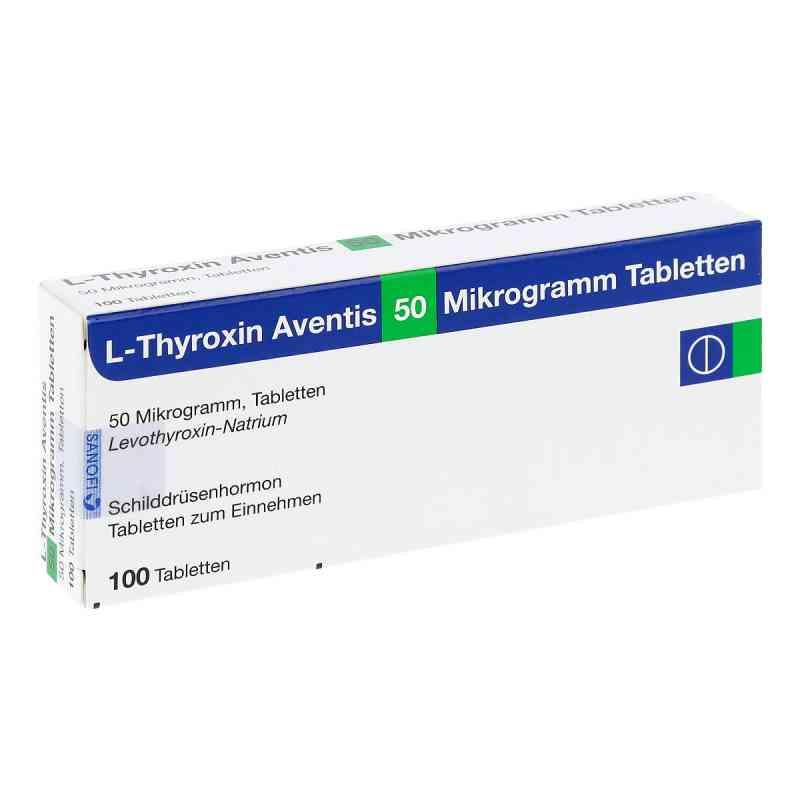 L-thyroxin Aventis 50 [my]g Tabletten  bei apo.com bestellen