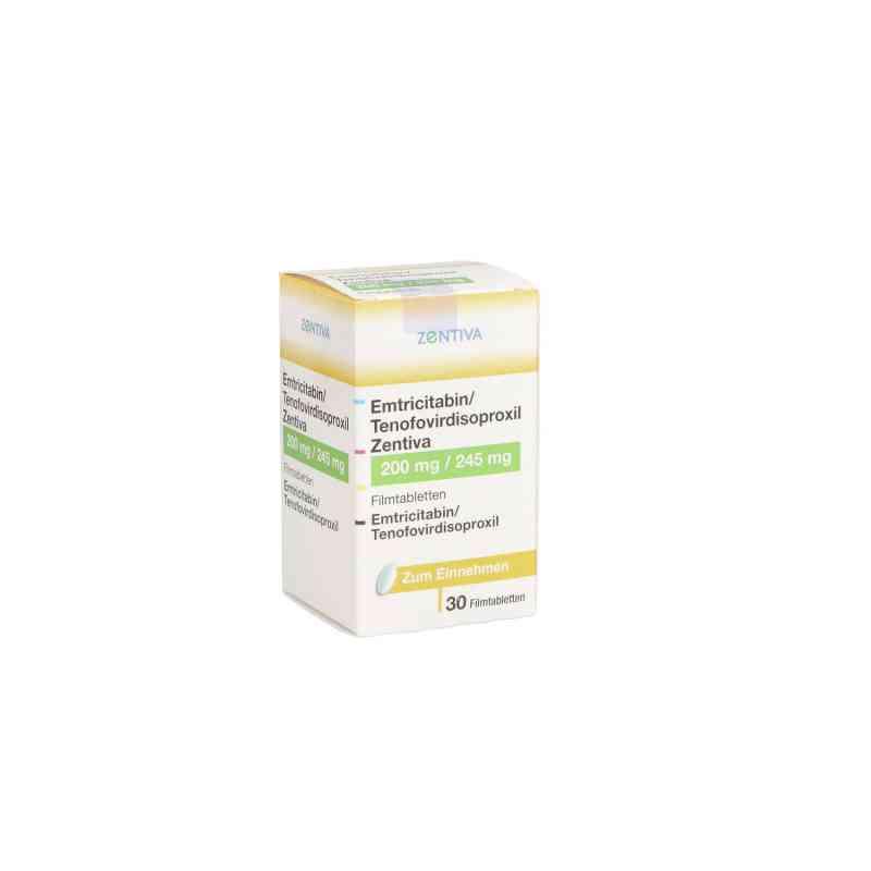 Emtricitabin/tenofovirdisoproxil Zentiva 200/245mg  bei apo.com bestellen
