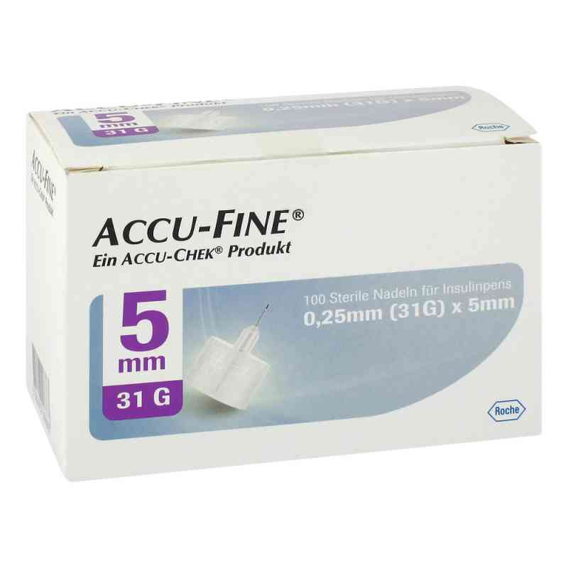 Accu Fine sterile Nadeln für Insulinpens 5 mm 31 G  bei apo.com bestellen