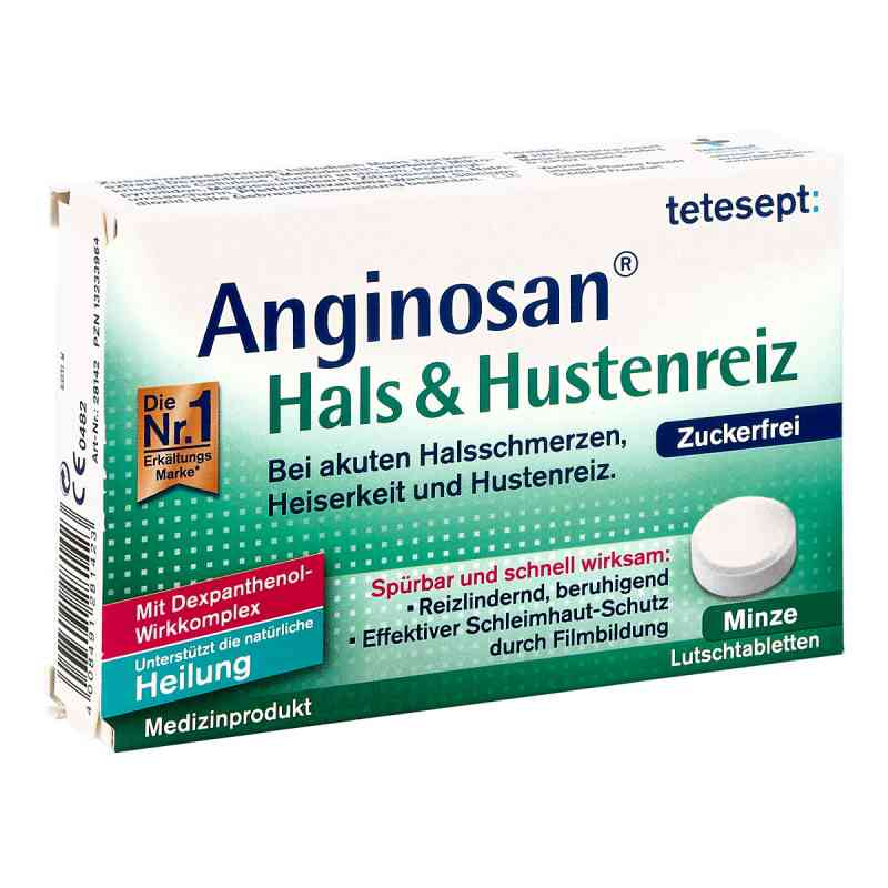 Tetesept Anginosan Hals & Hustenreiz Lutschtabletten  bei apo.com bestellen