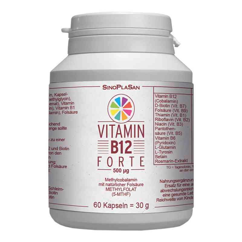 Vitamin B12 Forte 500 [my]g Methylcobalamin Kapsel  bei apo.com bestellen